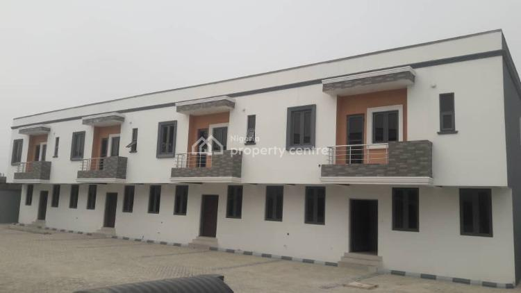 Fully Serviced 3 Bedrooms Terraced Duplex with Bq, Orchid Road By Second Toll Gate, Lafiaji, Lekki, Lagos, Terraced Duplex for Sale
