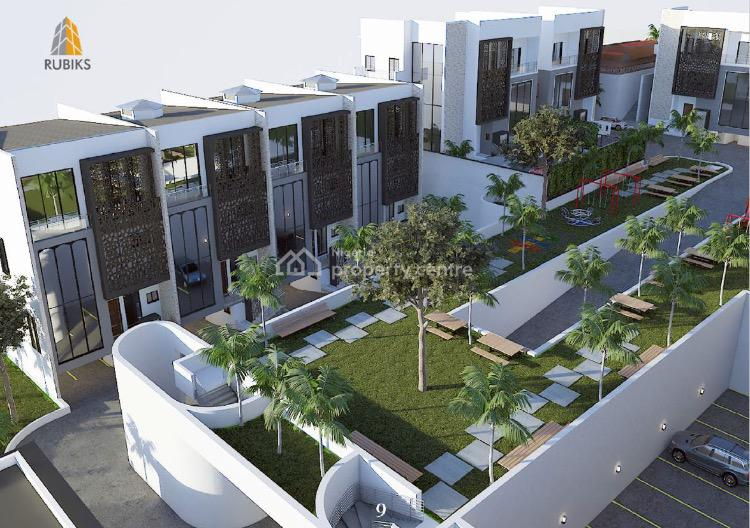 Off Plan 8 Units 6 Bedroom Terraces in a Mini Estate, Off Mississippi Street, Maitama District, Abuja, Terraced Duplex for Sale