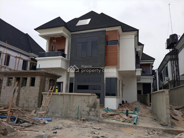 Brand New 4 Bedroom Fully Detached Duplex and Bq, Off Chevron Drive, Lekki Expressway, Lekki, Lagos, Detached Duplex for Sale