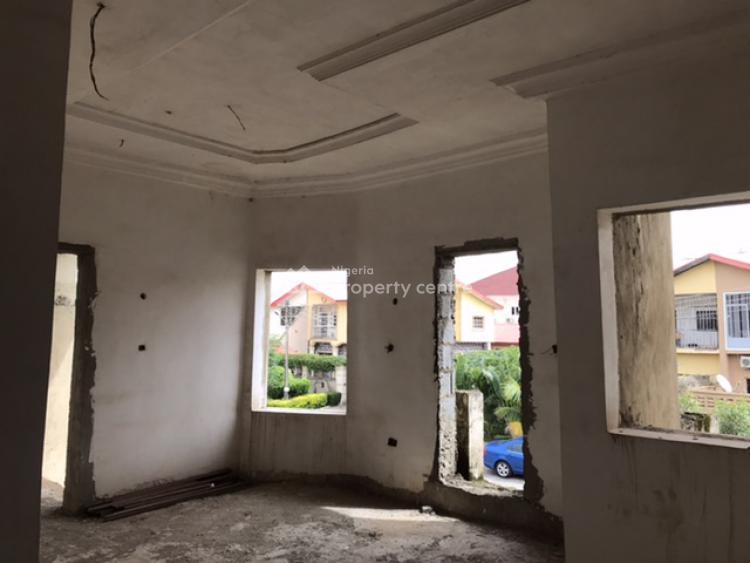 Uncompleted 6 Bedroom Detached Duplex + 2 Rooms Bq, Off 6th Avenue, Gwarinpa, Abuja, Detached Duplex for Sale