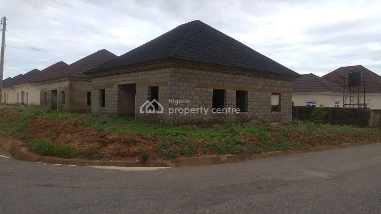 Partly Completed 3 Bedroom Detached Bungalow + Bq Space, Sunshine Estate, Apo, Abuja, Detached Bungalow for Sale