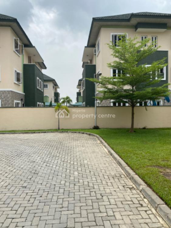 4 Bedroom Semi Detached Duplex + Bq in a Private Estate., Exclusive Estate in Osapa London., Osapa, Lekki, Lagos, Semi-detached Duplex for Sale