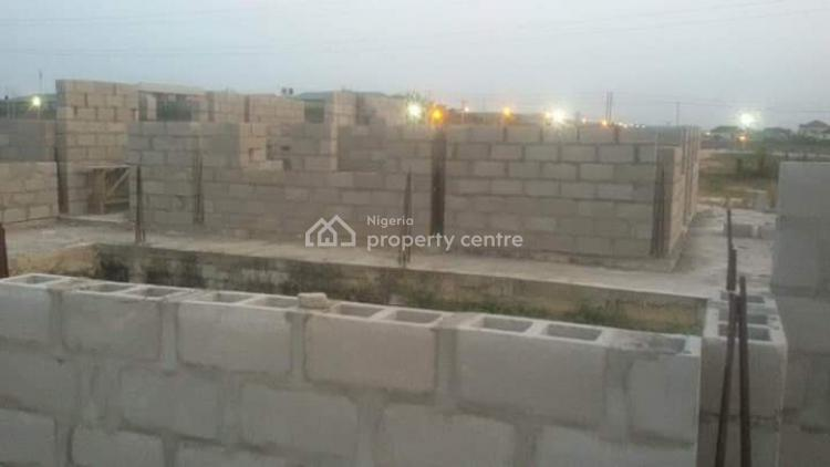 2 Corner Piece Plot of Land with U-shaped Foundation, Along Lagos -ibadan Express Road Before Mowe, Ibafo, Ogun, Mixed-use Land for Sale