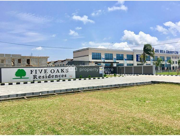 Land with Governors Consent, Five Oaks Residences, Along Eleko Beach Road, Beside Jiu Hua Company, Eleko, Ibeju Lekki, Lagos, Residential Land for Sale