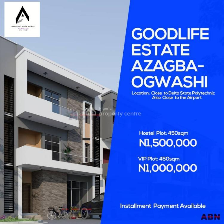 Dry and Affordable Estate Land in Delta with Freehold Title., 1mins Drive From Delta State Polytechnic and 15mins to The Airport., Asaba, Delta, Residential Land for Sale