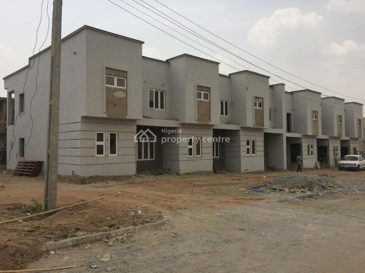 3 Bedroom Semi Finished Terrace Duplex, Gwarinpa Extension Karsana South, Karsana, Abuja, Terraced Duplex for Sale