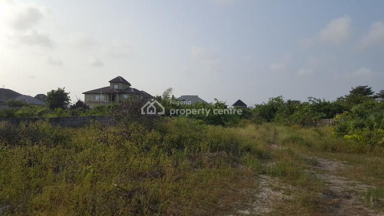 Two Plots of Dry Land in a Developing Neighborhood., New Road Beside Mayfair Gardens, Awoyaya, Ibeju Lekki, Lagos, Residential Land for Sale