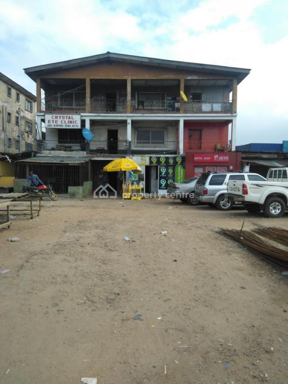 Demolishable Structure on 560sqm, Directly on Ikorodu Road, Ikosi, Ketu, Lagos, Office Space for Sale