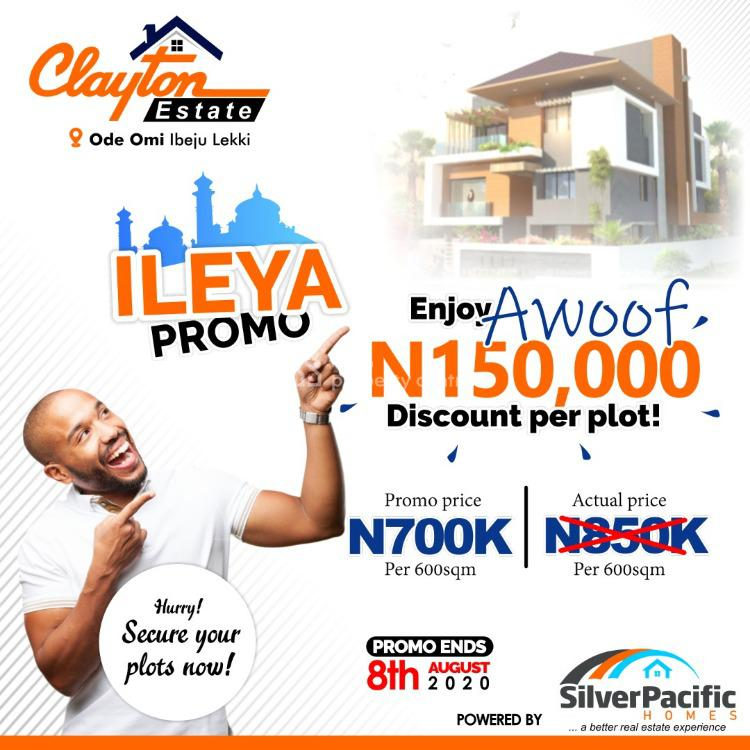 Newly Launched Estate. Free of Encumberance, Ibeju Lekki, Lagos, Residential Land for Sale