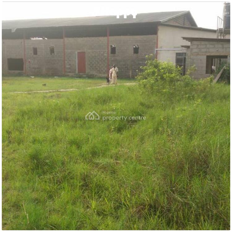 2 Bay Warehouse on 4000sqmts of Land, Afromedia Bus Stop By Lasu, Okokomaiko, Ojo, Lagos, Warehouse for Sale