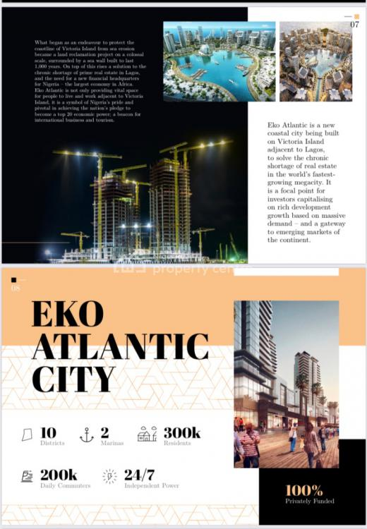 Luxury Apartments with Bq, Eko Atlantic, Victoria Island Extension, Victoria Island (vi), Lagos, Flat for Sale
