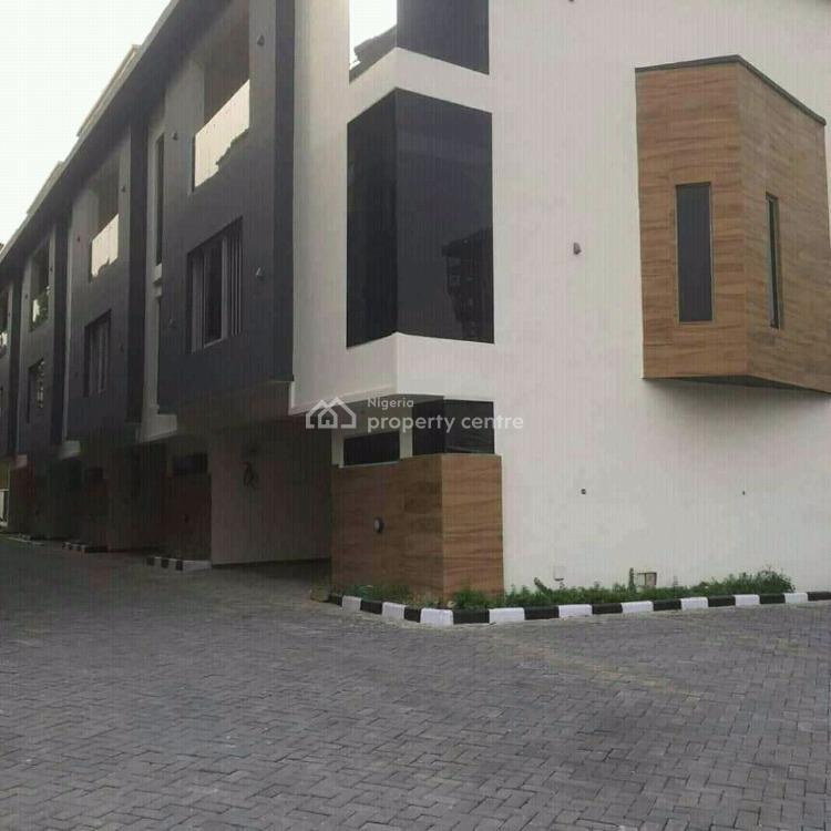 Newly Built 4 Bbebroom Terrace, Victoria Island (vi), Lagos, Terraced Duplex for Sale