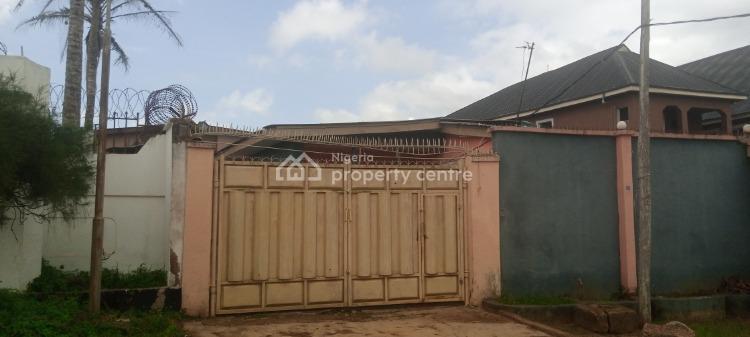 Bungalow of 2 Nos 4 Bedroom Flats on 550sqm, Abaranje Road By Custom Bus Stop, Ijegun, Ikotun, Lagos, Detached Bungalow for Sale
