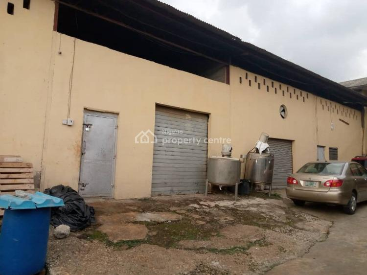 300 Sqm High-roof Warehouse Available, Before Grammar School, Omole Phase 1, Ikeja, Lagos, Warehouse for Rent