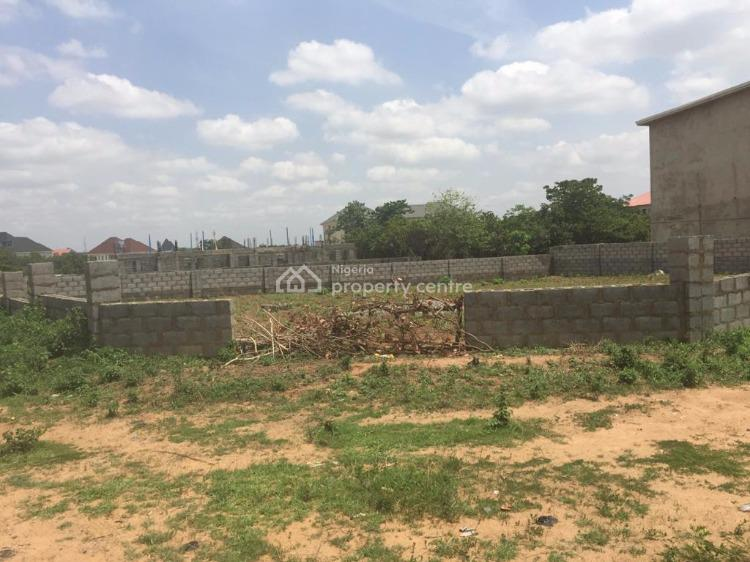 Fenced 967sqm Residential Plot with C of O, Peace Apartments, Jahi, Abuja, Residential Land for Sale
