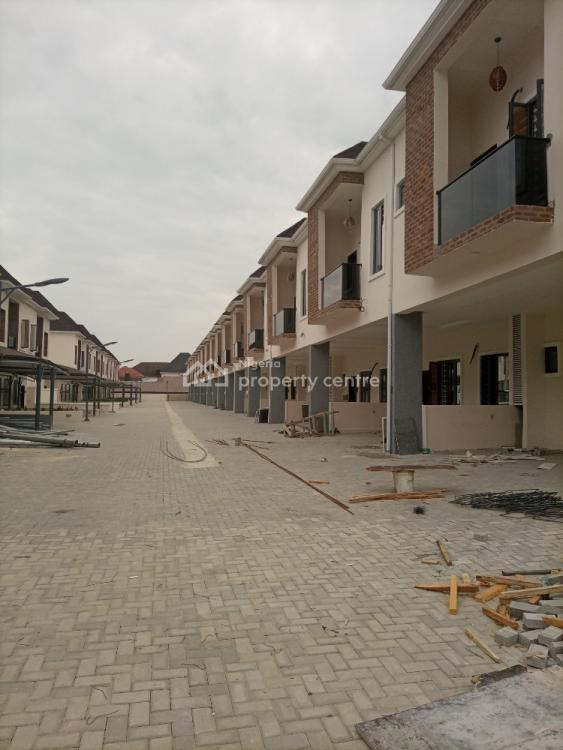 Luxurious and Magnificently Finished  24 Units of 4 Bedroom Terrace, Ikota Villa Estate, Ikota, Lekki, Lagos, Terraced Duplex for Rent