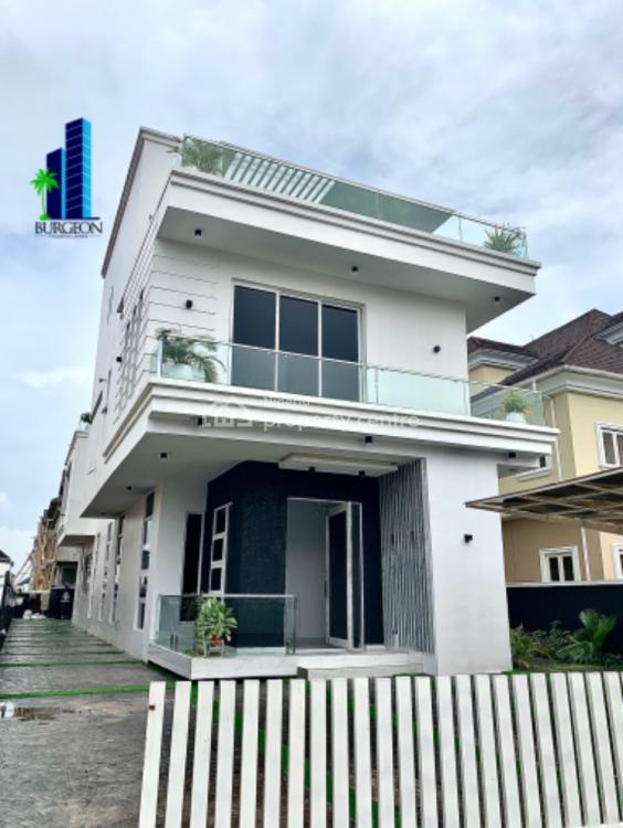Luxury 4 Bedrooms + 1 Bq Fully Detached Duplex, Arcadia Estate, Osapa, Lekki, Lagos, Detached Duplex for Sale