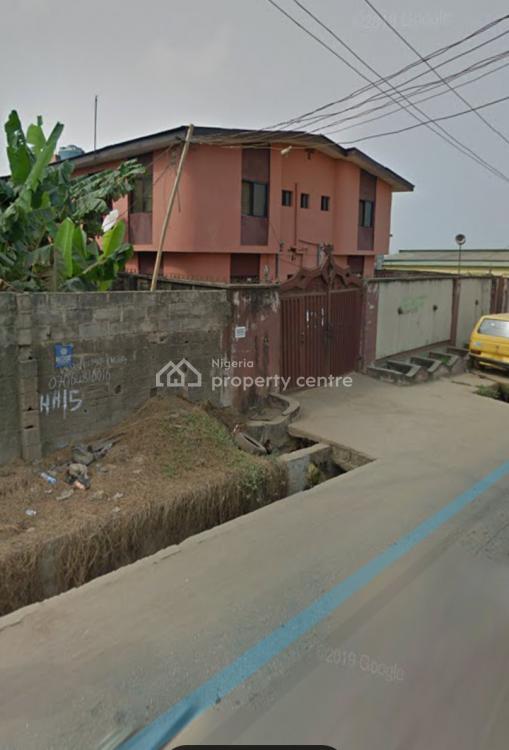Block of 3 Units 3 Bedroom with 3 Bedroom Bungalow Bq, Okunola Road, Egbeda, Alimosho, Lagos, Block of Flats for Sale