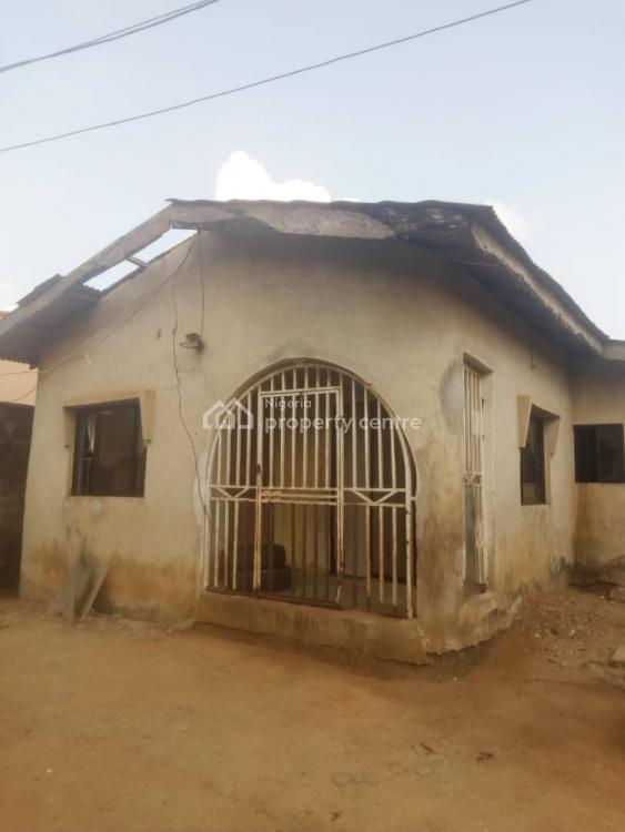 a 3 Bedroom Bungalow with 2 Toilets on Half a Plot of Land., Akute, Ifo, Ogun, Detached Bungalow for Sale
