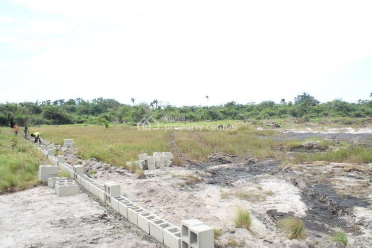 100% Roi in 1 Year, Corner Piece Available, Between 2 Waterfronts, Ise Igbogun, Between Southern Atlantic & Lagos Lagoon, Ibeju Lekki, Lagos, Mixed-use Land for Sale