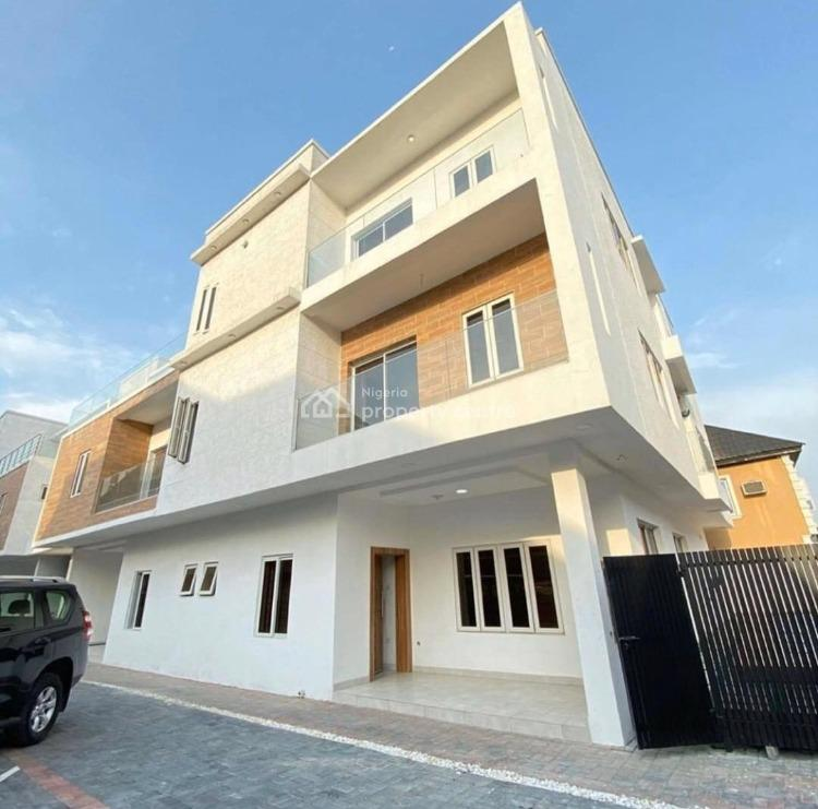 Tastefully Finished and Luxury 5 Bedroom Terrace with Bq, Lekki Phase 1, Lekki, Lagos, Terraced Duplex for Sale