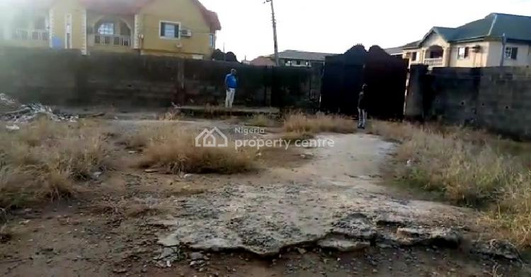 100% Dry Corner Piece Half Plot of Land, Ago Palace, Isolo, Lagos, Residential Land for Sale
