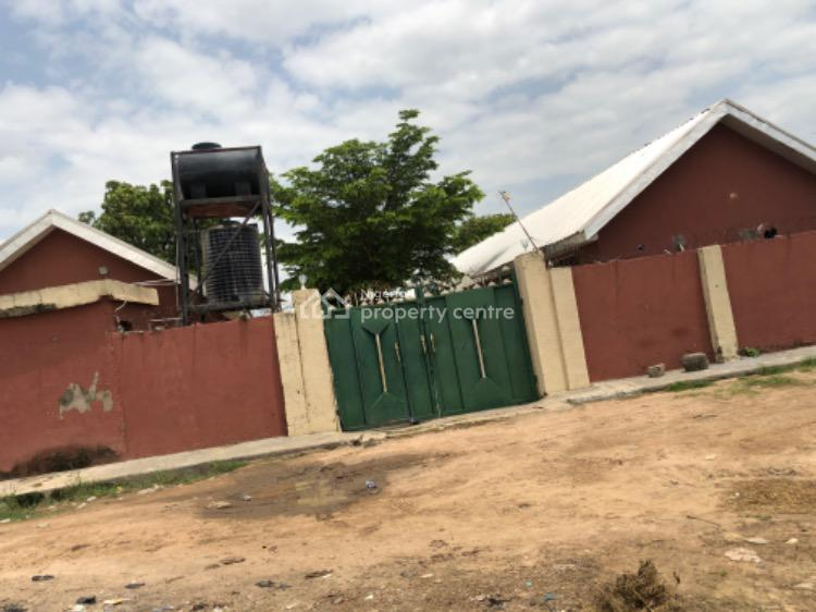 a 16 Self Contained of 3 Bungalows with a Gate Man House., Custom College Road, Gwagwalada, Abuja, Hostel for Sale
