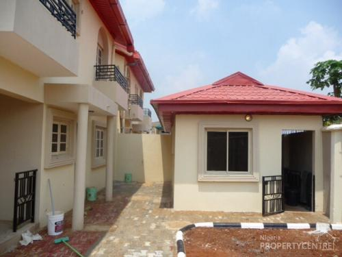 Cheap luxury 4 bedroom duplex boys quarters to let at for Cheap 4 bedroom houses