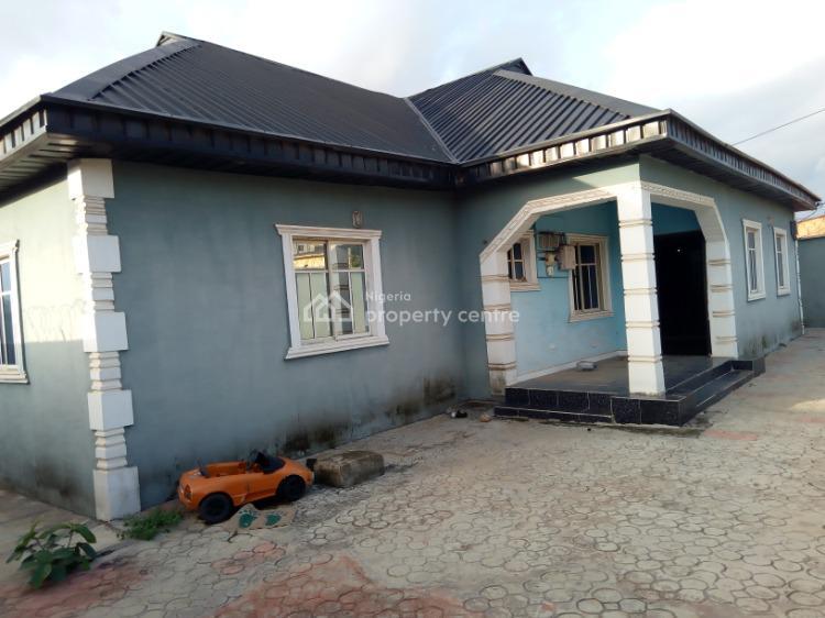 Comfortable Four Bedroom Bungalow., Ajose Close, Off Fifth Avenue, Shagari Estate., Baruwa, Ipaja, Lagos, Detached Bungalow for Sale