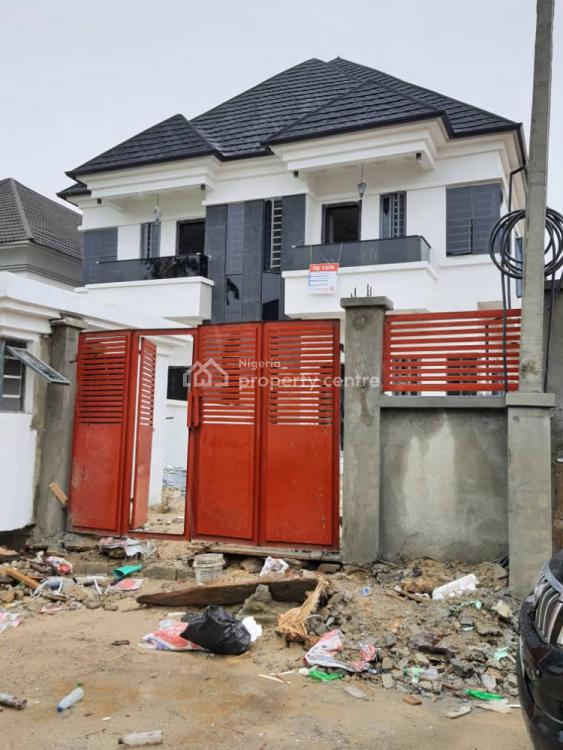 5 Bedroom Semi Detached Duplex with a Bq, By Shoprite, Osapa, Lekki, Lagos, Detached Duplex for Sale