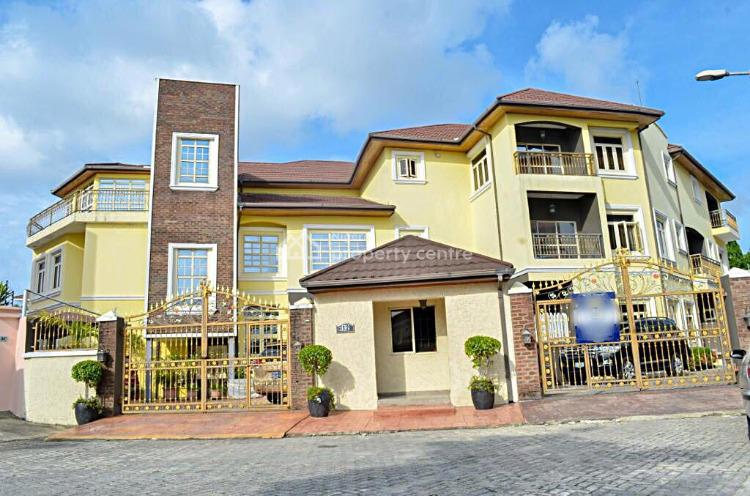 2 Units of Partly Furnished 3 Bedrooms Terraced House Plus Pool, Banana Island Estate, Banana Island, Ikoyi, Lagos, Terraced Duplex for Rent