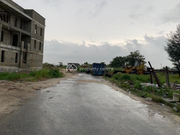 Land Measuring 2000 Sqm, Ikota Villa Estate Gate By Mega Chicken, Lekki Expressway, Lekki, Lagos, Commercial Land for Sale