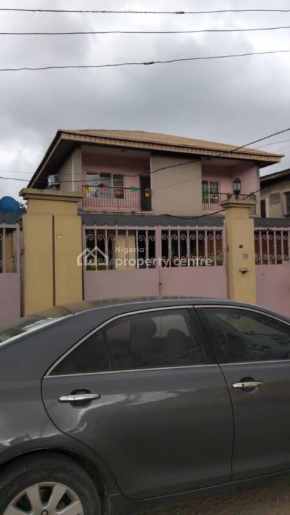 Fantastic 4 Bedrooms Fully Detached Duplex, Ilipeju Estate, Ilupeju, Lagos, Detached Duplex for Sale