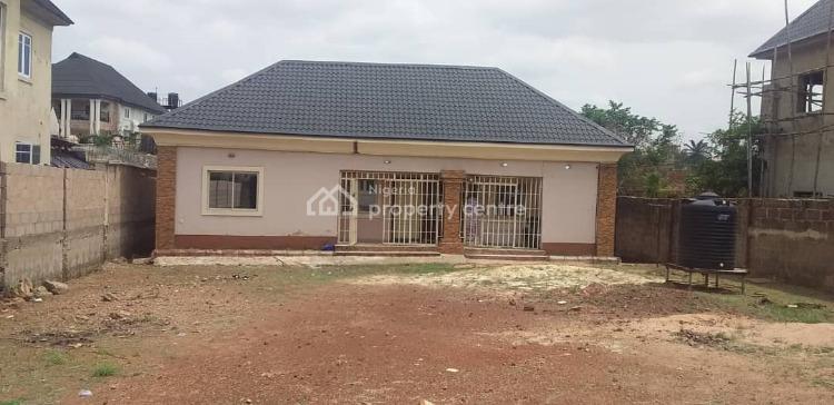 1000sqm of Land in Serene Estate with 2 Units of Room & Parlour Bungalow, Golf Estate, Gra, Enugu, Enugu, Residential Land for Sale