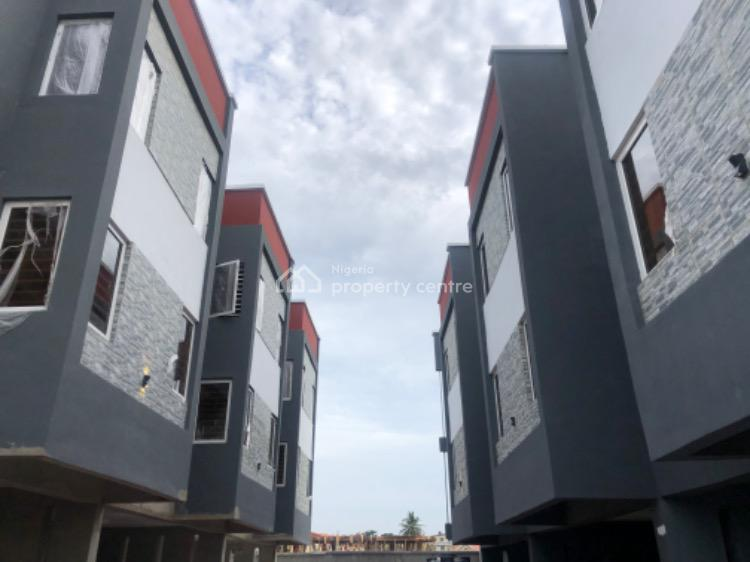 Luxury 4 Bedrooms Terraced Duplex with Inverter and Swimming Pool, Gbagada Phase 1, Gbagada, Lagos, Terraced Duplex for Sale