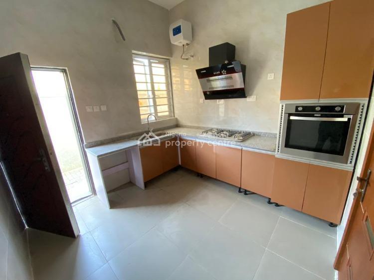 Brand New 4-bedroom Semi-detached House with Bq, Chevron Alternative, Lekki, Lagos, Semi-detached Duplex for Sale