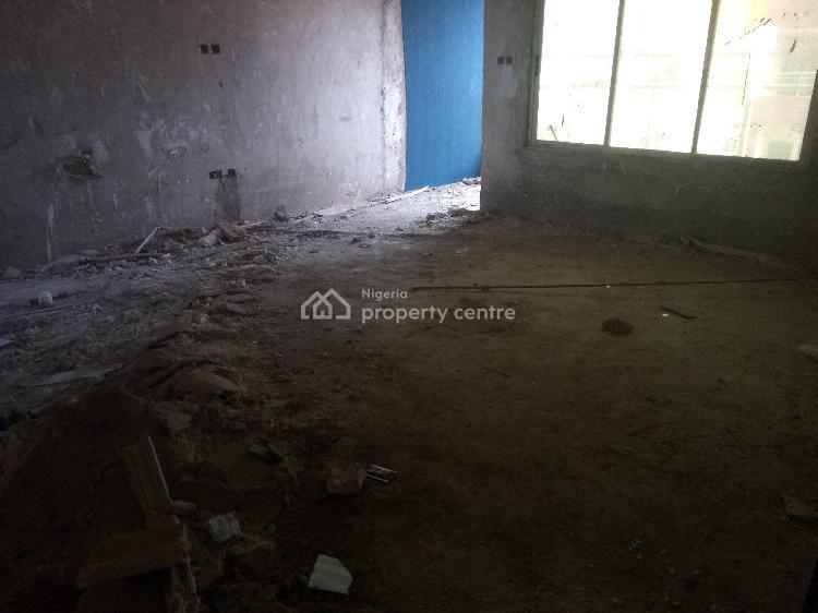 New Carcass Three Bedroom Flat with Bq, Ikate, Lekki, Lagos, Flat for Sale