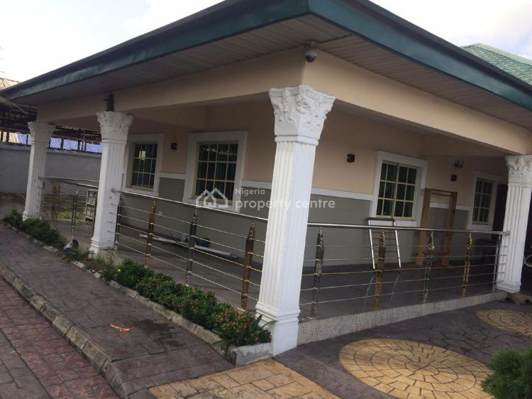 Fully Furnished Detached 6 Bedroom Bungalow with Swimming Pool, Rukpokwu, Port Harcourt, Rivers, Detached Bungalow for Sale
