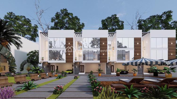 Luxury 4 Bedroom Terrace Duplex with Maids Room, Chevron Drive, Lekki Phase 1, Lekki, Lagos, Terraced Duplex for Sale