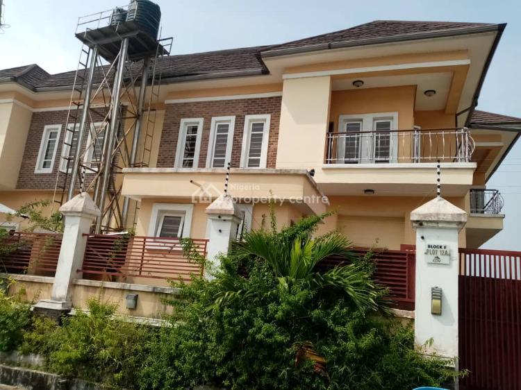 4 Bedroom Duplex with Bq, Whiteoak Estate, Ologolo, Lekki, Lagos, Semi-detached Duplex for Rent