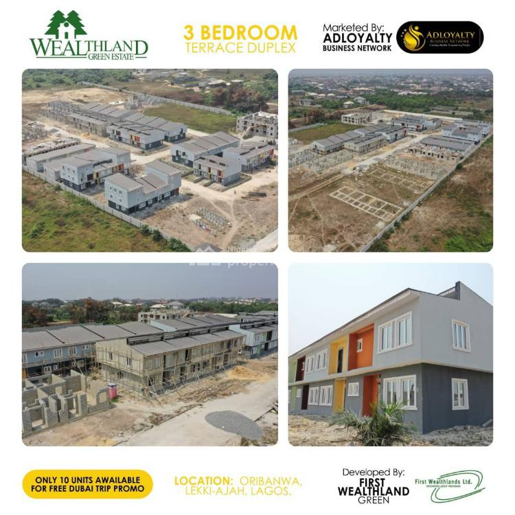 a 3 Bedroom Apartment, Wealthland Green Estate, Lekki, Lagos, House for Sale