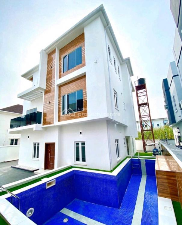 5 Bedroom Family Home with Swimming Pool, Off Ado Road, Ado, Ajah, Lagos, Detached Duplex for Sale