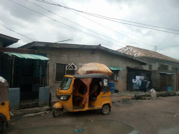 9 Standard Rooms and a Shop on a Half Plot of Land, Arobadade Street., Bariga, Shomolu, Lagos, Block of Flats for Sale