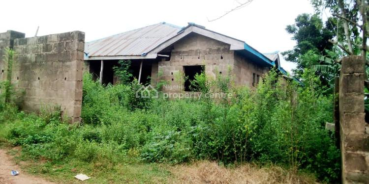 3 Bedroom and 2 Bedroom Bungalows on a Plot of Land(70% Complete), Jiboye, Apata, Ibadan, Oyo, Detached Bungalow for Sale