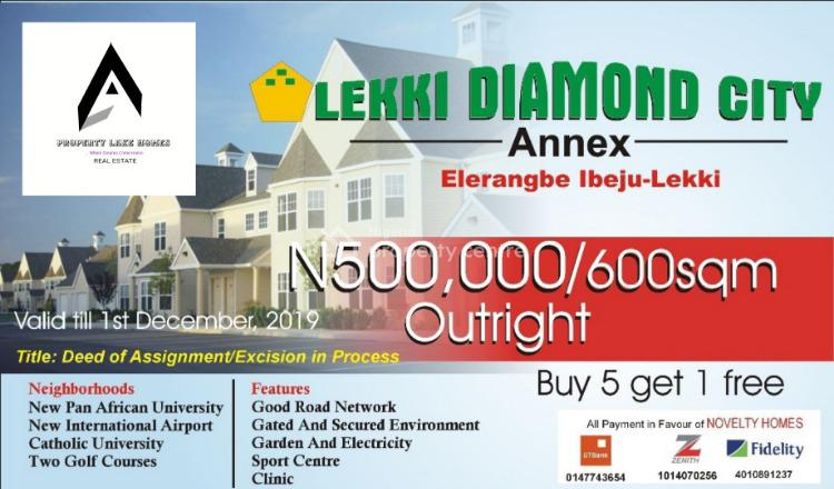 Dry and Affordable Estate Land,  with Survey and Deed Title, Eleranegbe, Epe, Lagos, Residential Land for Sale