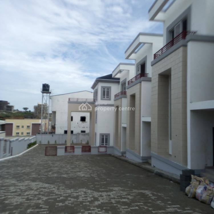 4 Bedroom Terraced House with a Room Bq, By Coza, Guzape District, Abuja, House for Sale
