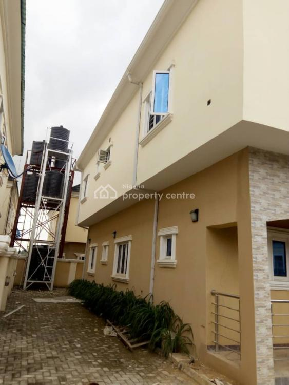 4 Bedroom Duplex Fully Detached, Estate Along Airport Road, Lugbe District, Abuja, Detached Duplex for Sale