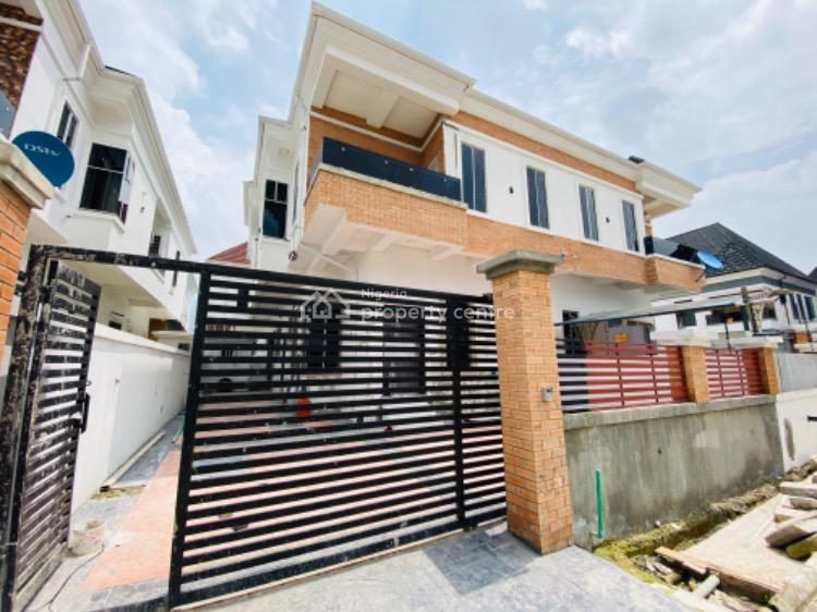 Brand New 4 Bedroom Semi Detached Duplex with Bq, Chevron Lekki, Lekki Phase 2, Lekki, Lagos, Semi-detached Duplex for Sale