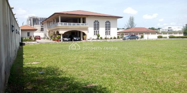 Waterfront 6,400 Square Meters Land + 7 Bedroom Detached House & Bq., Off  Tony Eromosele Street., Parkview, Ikoyi, Lagos, House for Sale