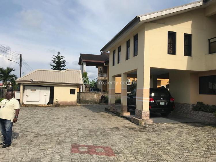 Spacious 5 Bedroom Duplex with 3 Sittings & 3 Room Bq on 980sqm, Cooperative Villa Estate, Badore, Ajah, Lagos, Detached Duplex for Sale